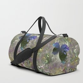 The butterfly of a fractal dreamscape Duffle Bag