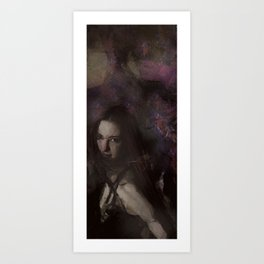 Flow Portrait Art Print