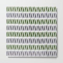 Tee Pee Kale Metal Print