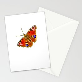 The Peacock butterfly (2) Stationery Cards
