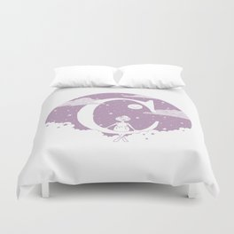 Lilac C Duvet Cover