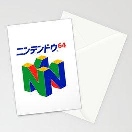 Japanese Nintendo 64 Stationery Cards