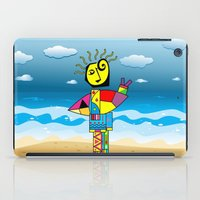 surfer iPad Cases featuring Surfer by Moisés Ferreira