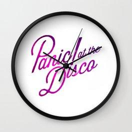 panic at the disco Wall Clock
