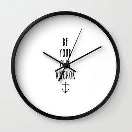 Teen Wolf / Anchor Wall Clock