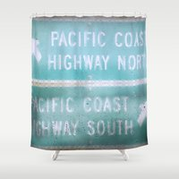 Pacific Rain Shower Curtain