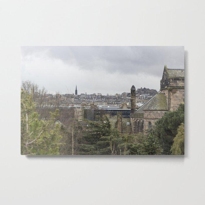 Edinburgh Metal Print