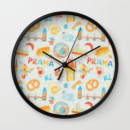Adorable Prague Wall Clock
