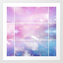 Pastel Sky II Art Print