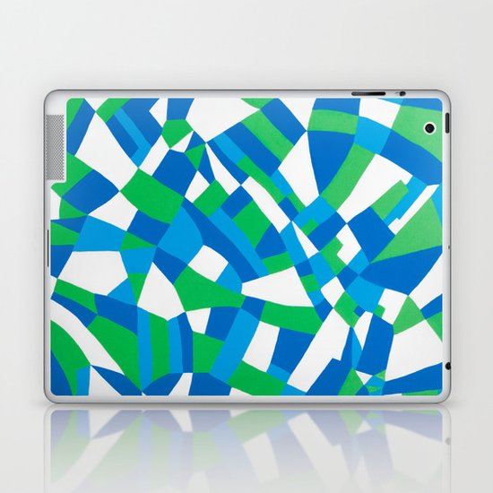 London Green Laptop & iPad Skin