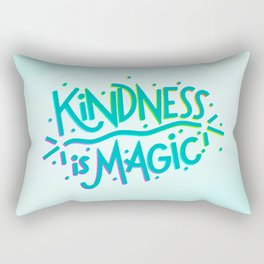 Kindness is Magic Rectangular Pillow