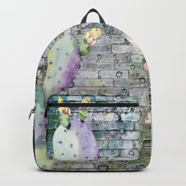 cactus in the wall Backpack