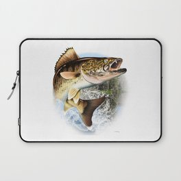 Walleye Art, Decor and Gifts Laptop Sleeve