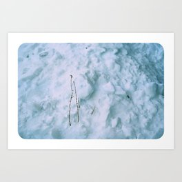 Snow #3 Art Print