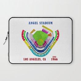 Angel Stadium Los Angeles Laptop Sleeve