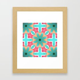 Kaleidoscope 1 Framed Art Print