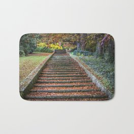 Autumnal Stairs Bath Mat