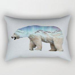 The Arctic Polar Bear Rectangular Pillow