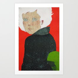 Geiko of the Universe Art Print