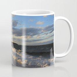 Evening Seascape Waves Coffee Mug