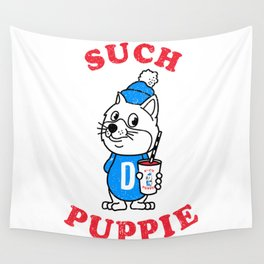 Such Puppie Wall Tapestry