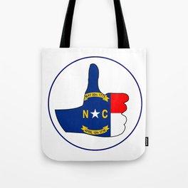 Thumbs Up North Carolina Tote Bag