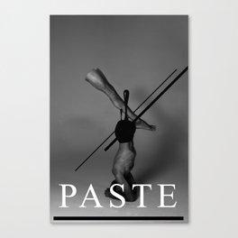 Paste Canvas Print