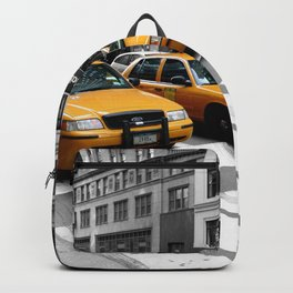 NYC - Yellow Cabs - Shops Backpack