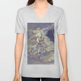 Space Storm Unisex V-Neck