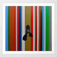 mega man Art Prints featuring MEGA MAN by SCOTT BELCASTRO