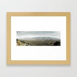 View from Mount Whitney Framed Art Print