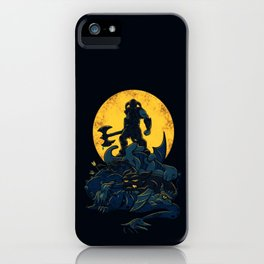 the king of Darkness iPhone Case