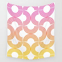 Deco Geometric 05B Wall Tapestry