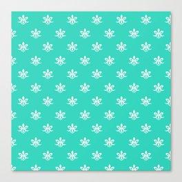 Luxe royal pattern on beige background #society6 #decor #buyart #artprint Canvas Print