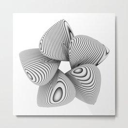 Bio Flower Art Print Metal Print
