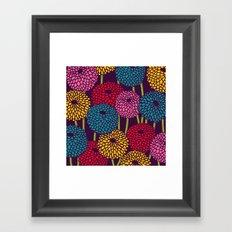 Full of Chrysanth Framed Art Print