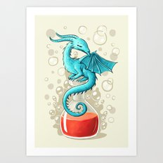 Dragon Potion Art Print
