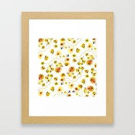 INKI 1 Framed Art Print