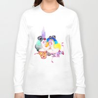 leah flores Long Sleeve T-shirts featuring Flores by Tania Orozco
