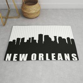 New Orleans Skyline Rug