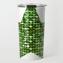 Sparkling Star,green Travel Mug