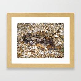 BH Natural Rock Art Framed Art Print