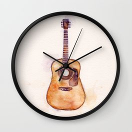 Martin Guitar Wall Clock