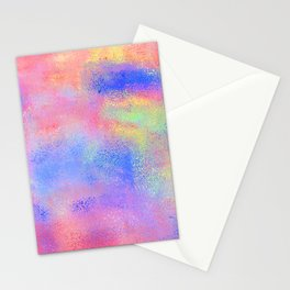 Where There's Life, There's Hope: Abstract Design Stationery Cards