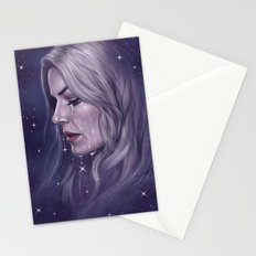 Stars Fall Silent Stationery Cards