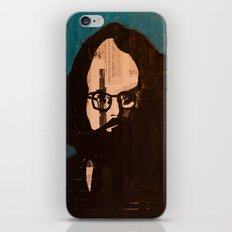 Who stood before you speechless — Allen Ginsberg iPhone & iPod Skin