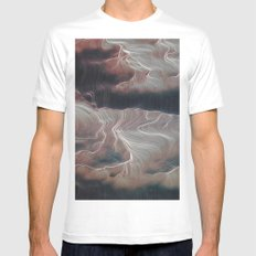 Word of Dream Mens Fitted Tee MEDIUM White