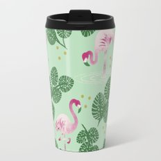 Flamingo Friends Travel Mug