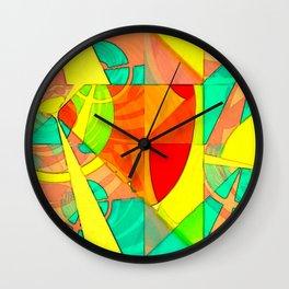 Tropical Farm 4 Wall Clock