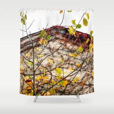 Somewhere in Rhode Island - Abandoned Mill 003 Shower Curtain
